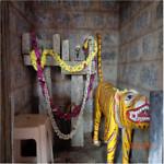 Mandarthi Temple - Sub God Haiguli, Huli Devaru, Nandikeshwara